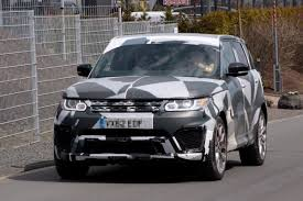 modified range rover sport spy shots is land rover working on a hotter range rover sport