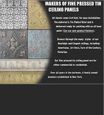 Tin Ceilings by The Tinman Chelsea Decorative Metal pany