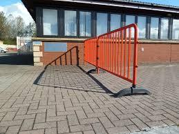Temporary Handrail Systems Turtlegates Turtleguard Railing System Temporary Barricades