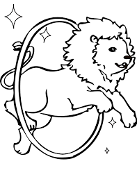 lion taming coloring handipoints