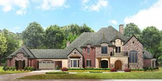 European Home Design Inc Luxury House Plans Front Rendering Floor Plans Luxury