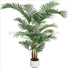 faux tree office decoration artificial small palm tree green