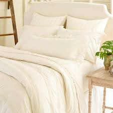 savannah linen gauze ivory bed skirt design by pine cone hill