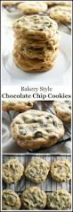 bakery style chocolate chip cookies recipe chip cookies