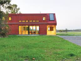 building a home in vermont foote farm house is a little red home with a green heart in