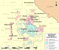 Illinois District Map by File Southeast Missouri Lead District Subdistricts Map Svg