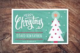 cute christmas card maker editable design