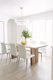 Dining Room Best  White Chairs Ideas On Pinterest Within - Stylish dining table with wicker chairs house