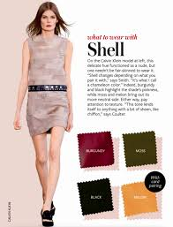 matching color schemes shell colour fashion guide colours pinterest shell