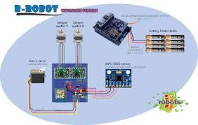Stepper Motor Driver Wiring Diagram B Robot Assembly Instructions Jjrobots