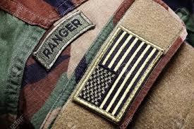 Uniform Flag Patch Army Bdu Woodland Camo Uniform With Ranger Patch And Us Flag