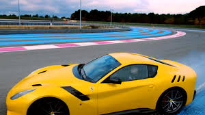 Ferrari F12 Yellow - chris harris tames the ferrari f12 tdf top gear bbc america