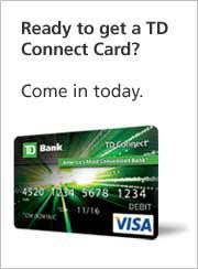 ready prepaid card introducing the new prepaid and reloadable td connect card td bank