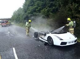 lamborghini gallardo price 2014 lamborghini gallardo burns to the ground in car