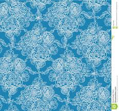 blue lace flowers seamless pattern background stock images image
