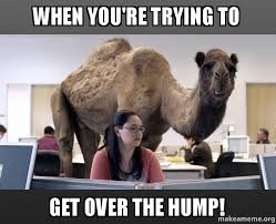 Bored At Work Meme - when you re trying to get over the hump bored at work make a meme