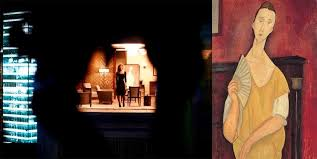 modigliani woman with a fan stolen amedeo modigliani painting in skyfall skyfall 2012 cbn