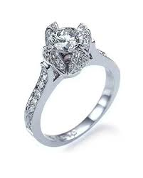 engagement ring settings only shaped engagement ring diamonds in white gold shiree odiz