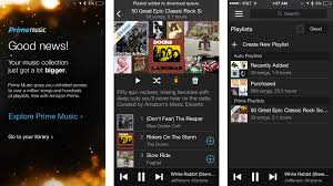 amazon music app prime music now has a mobile app too