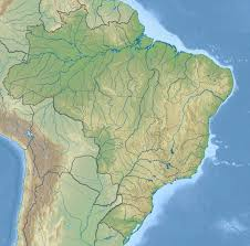 South America River Map by Large Relief Map Of Brazil Brazil South America Mapsland