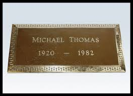 Flat Grave Markers With Vase Portfolio Of Bronze Plaques And Markers O U0027rourke Brothers