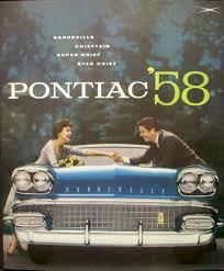 pontiac bonneville chieftain super star chief sales brochure nos