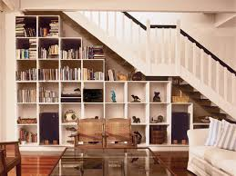 21 amazing bookshelves in the staircase as a great idea of space