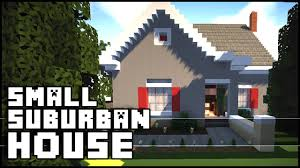 small simple houses minecraft small simple suburban house youtube