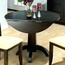 round drop leaf table and 4 chairs round kitchen table with leaf round drop leaf table leaf insert