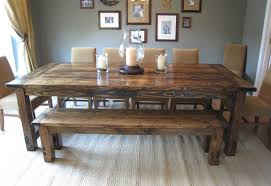 scintillating dining room table and bench seating photos best