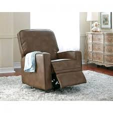 leather swivel recliners with ottoman sidney leather swivel glider