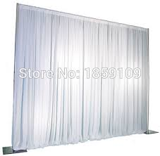 wedding backdrop stand 3m 3m wedding drapery pipe stand wedding decor pipe and drape