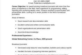 career objective journalism resume 100 images alexkid resume
