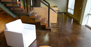stained concrete flooring concrete polishing houston
