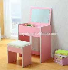 Desk Dresser Combination Dressing Makeup Table Fashion Colorful Dresser Cabinet Combination