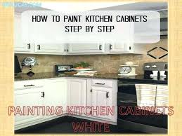 how to paint oak cabinets white painting oak cabinets white beautiful tourism
