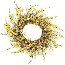 forsythia wreath celebrate the season 24 forsythia wreath shopko