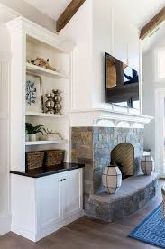 fireplace built in cabinets wall units amazing fireplace with built ins diy built ins around