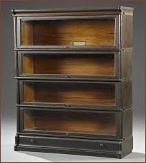 Metal Barrister Bookcase The Barrister Bookcase Throughout Barrister Bookcase Portofinos Us