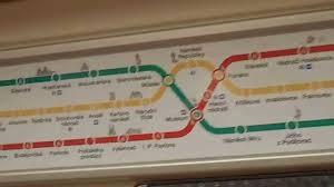 Prague Metro Map by Prague Metro Map Youtube