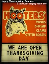 is hooters open on thanksgiving k k club 2017
