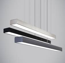 Ceiling Light Bar Linear Suspension By Tech Lighting 700lsknoxm Led