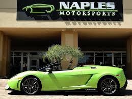 Lamborghini Gallardo Green - 2012 lamborghini gallardo lp 570 4 spyder performante