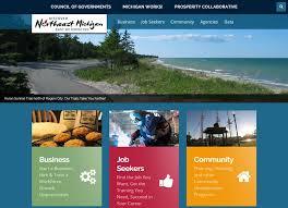 Michigan travel web images Liaa website graphic design jpg