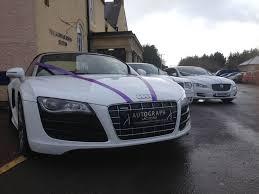 cars audi audi r8 v10 spyder car hire autograph chauffeurs