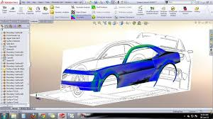 auto design software tutorial car design camaro design solidworks 3d cad