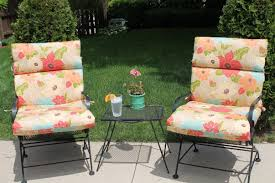 Wrought Iron Patio Chair Cushions Outdoor Wrought Iron Chair Cushions Outdoor Designs
