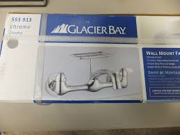 How To Install Glacier Bay Kitchen Faucet by Glacier Bay Wall Mount Faucet Bar Sink Faucets Amazon Com