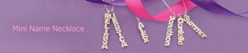 vertical name necklace vertical and horizontal mini name necklaces monogram online