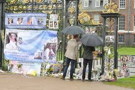 Where Is Kensington Palace William And Harry Visit Diana Tributes At Kensington Palace On Eve